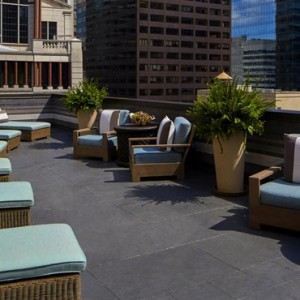 New York Honeymoon Packages The Peninsula New York Hotel Sun Deck