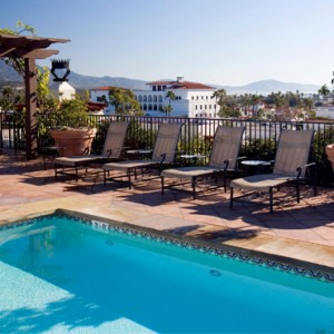 pool 2 - Kimpton canary Hotel Santa Barbra - Luxury Los Angeles Honeymoon Packages