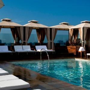 pool 2 - SIXTY Beverly Hills - luxury los angeles honeymoon packages