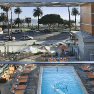 pool 2 - the shore hotel santa monica - luxury los angeles honeymoon packages