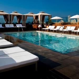 pool 3 - SIXTY Beverly Hills - luxury los angeles honeymoon packages