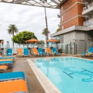 pool 3 - the shore hotel santa monica - luxury los angeles honeymoon packages