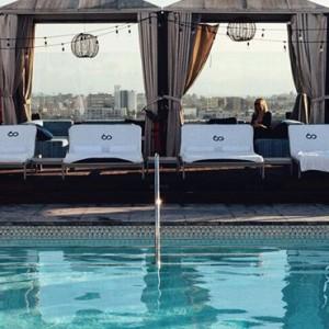 pool - SIXTY Beverly Hills - luxury los angeles honeymoon packages