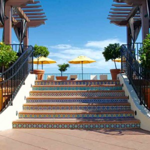 pool deck - Kimpton canary Hotel Santa Barbra - Luxury Los Angeles Honeymoon Packages