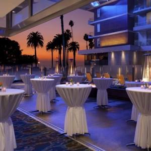 weddings - the shore hotel santa monica - luxury los angeles honeymoon packages
