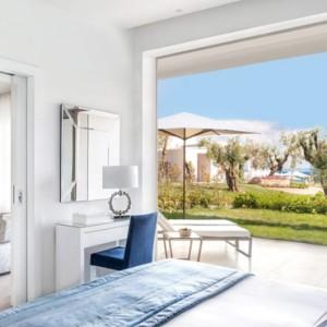 Greece Honeymoon Packages Ikos Olivia Resort Deluxe One Bedroom Bungalow Suite
