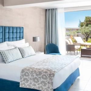 Greece Honeymoon Packages Ikos Olivia Resort Double Bungalow
