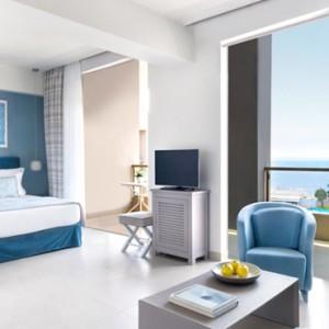 Greece Honeymoon Packages Ikos Olivia Resort One Bedroom Bungalow Suite