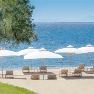 Greece Honeymoon Packages Ikos Olivia Resort Beach 2