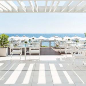 Greece Honeymoon Packages Ikos Olivia Resort Dining