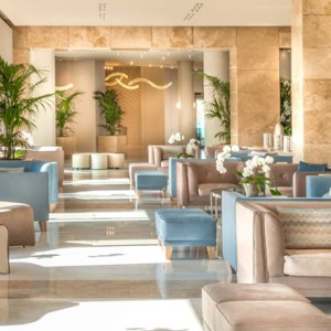 Greece Honeymoon Packages Ikos Olivia Resort Lobby
