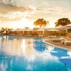 Greece Honeymoon Packages Ikos Olivia Resort Pool