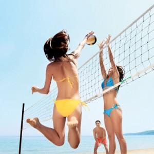 Greece Honeymoon Packages Ikos Olivia Resort Volleyball