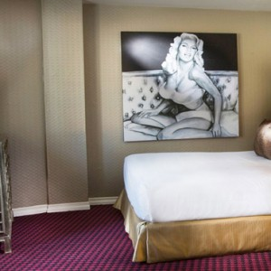 Los Angeles Honeymoon Packages Grafton on Sunset Hollywood Janes Suite