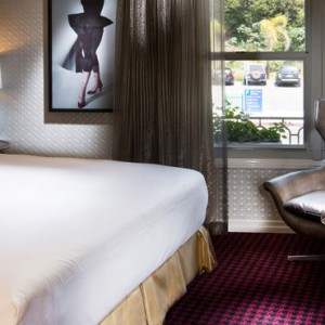Los Angeles Honeymoon Packages Grafton on Sunset Hollywood Starlet Themed Room