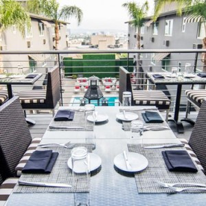 Los Angeles Honeymoon Packages Grafton Sunset Hollywood Dining 4
