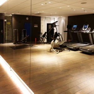 Iceland honeymoon Packages Hotel Grand Reykjavik Gym 2