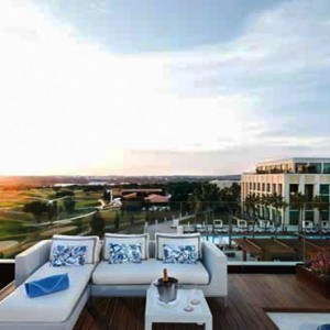 Portugal Honeymoon Packages Anantara Vilamoura Presidential Suite Terrace View