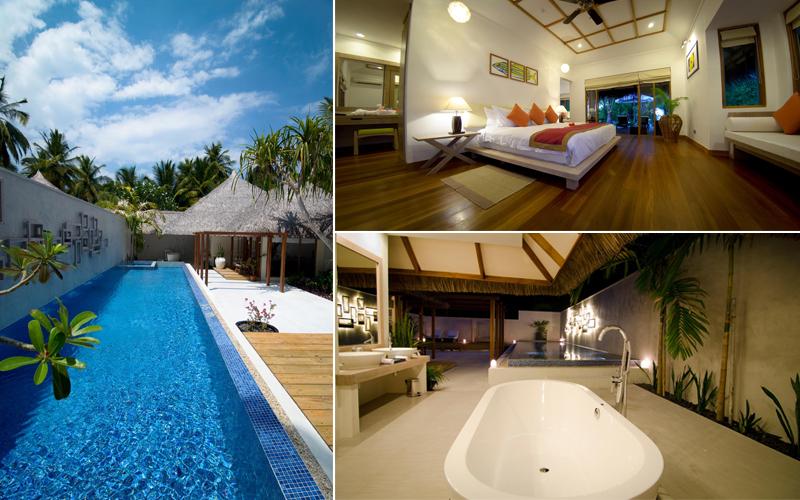 Kuramathi Island Honeymoon Packages Honeymoon Pool Villa