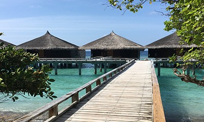 Louise And Michael Spent Two Weeks At Kuramathi Island