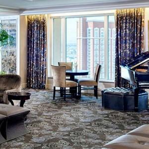 lounge - The Palazzo Las Vegas - Luxury Las Vegas Honeymoon Packages