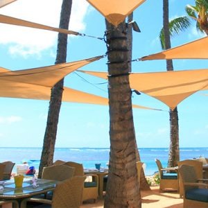 Seaside Dining Kahala Hotel & Resort Hawaii Honeymoons