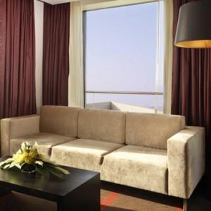 Abu Dhabi Honeymoon Packages Radisson Blu Yas Island One Bedroom Suite 2