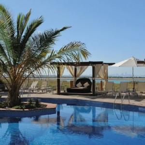 Abu Dhabi Honeymoon Packages Radisson Blu Yas Island Pool 2