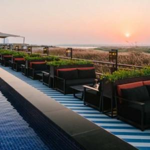 Abu Dhabi Honeymoon Packages Radisson Blu Yas Island Sunset