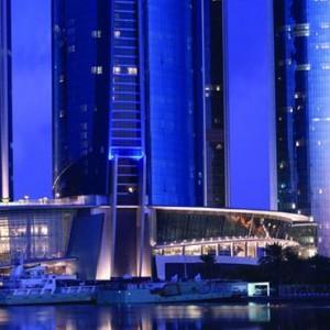 Abu Dhabi Honeymoon Packages The Ritz Carlton Abu Dhabi Grand Canal Exterior