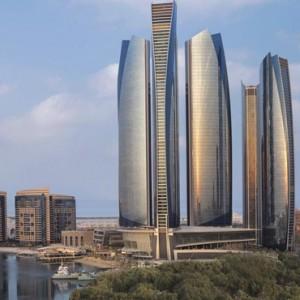 Abu Dhabi Honeymoon Packages The Ritz Carlton Abu Dhabi Grand Canal Exterior 3