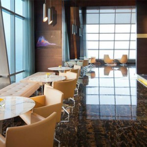 Abu Dhabi Honeymoon Packages The Ritz Carlton Abu Dhabi Grand Canal Observation Deck At 300