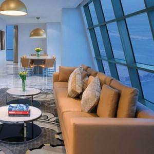 Abu Dhabi Honeymoon Packages The Ritz Carlton Abu Dhabi Grand Canal Sky Suite 2