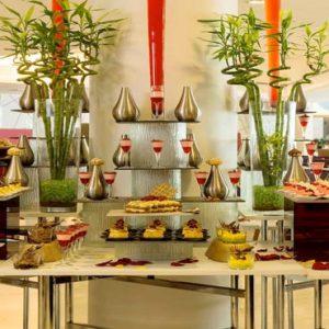 Abu Dhabi Honeymoon Packages Radisson Blu Hotel, Abu Dhabi Yas Island Assyemtri Brunch And Restaurant
