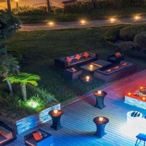 Abu Dhabi Honeymoon Packages Radisson Blu Hotel, Abu Dhabi Yas Island Banquet Terrace
