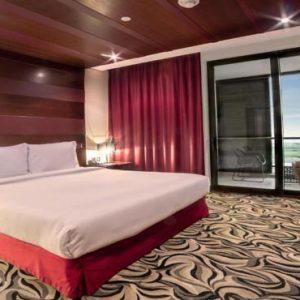 Abu Dhabi Honeymoon Packages Radisson Blu Hotel, Abu Dhabi Yas Island Deluxe Suite With Balcony Panoramic View1