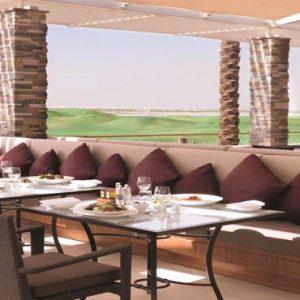 Abu Dhabi Honeymoon Packages Radisson Blu Hotel, Abu Dhabi Yas Island Filini Terrace
