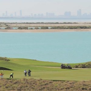 Abu Dhabi Honeymoon Packages Radisson Blu Hotel, Abu Dhabi Yas Island Golf Course View