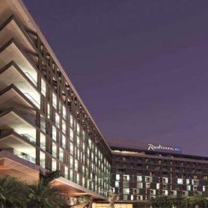 Abu Dhabi Honeymoon Packages Radisson Blu Hotel, Abu Dhabi Yas Island Hotel Exterior