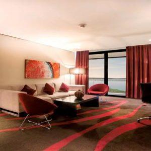 Abu Dhabi Honeymoon Packages Radisson Blu Hotel, Abu Dhabi Yas Island Junior Suite With Balcony Sea And Golf View