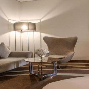 Abu Dhabi Honeymoon Packages Radisson Blu Hotel, Abu Dhabi Yas Island Junior Suite With Balcony Sea And Golf View1