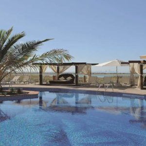 Abu Dhabi Honeymoon Packages Radisson Blu Hotel, Abu Dhabi Yas Island Outdoor Pool1