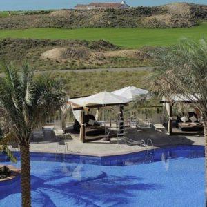 Abu Dhabi Honeymoon Packages Radisson Blu Hotel, Abu Dhabi Yas Island Pool And Sea View