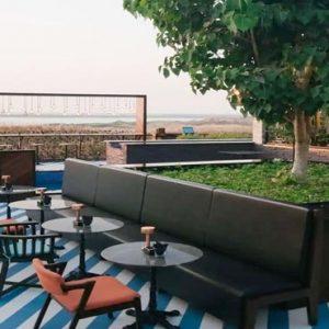 Abu Dhabi Honeymoon Packages Radisson Blu Hotel, Abu Dhabi Yas Island Restaurant Filini Garden