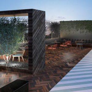 Abu Dhabi Honeymoon Packages Radisson Blu Hotel, Abu Dhabi Yas Island Restaurant Filini Garden1