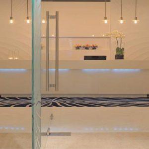 Abu Dhabi Honeymoon Packages Radisson Blu Hotel, Abu Dhabi Yas Island Spa Reception Desk