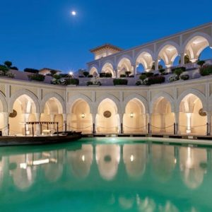 Abu Dhabi Honeymoon Packages Shangri La Hotel Qaryat Al Beri Abra Waterway