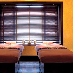Abu Dhabi Honeymoon Packages Shangri La Hotel Qaryat Al Beri CHI, The Spa Double Treatment Room