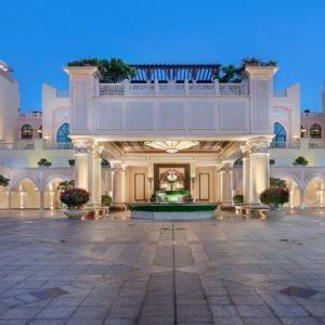 Abu Dhabi Honeymoon Packages Shangri La Hotel Qaryat Al Beri Hotel Entrance