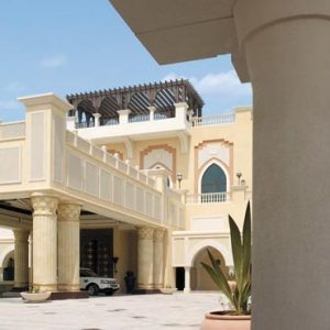 Abu Dhabi Honeymoon Packages Shangri La Hotel Qaryat Al Beri Hotel Entrance1